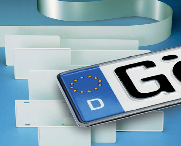 Lacquered-aluminium-strip-for-car-license-plate